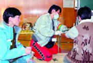 (新潟県中越大震災救援活動)