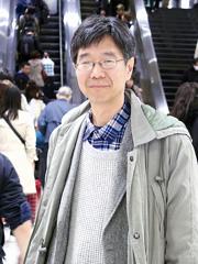松尾さん。JR京都駅で
