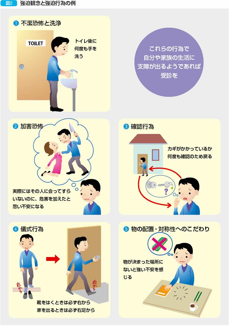 やめる 強迫 行為 性 確認 障害 強迫症(強迫性障害)
