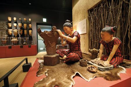 浅間山麓で繁栄した縄文文化が展示されている「浅間縄文ミュージアム」