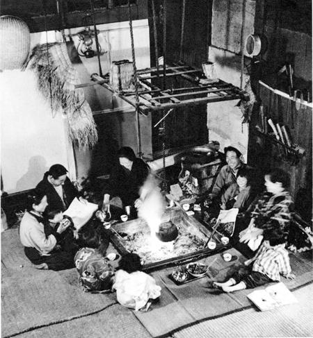 写真・中俣正義(1955年撮影、新潟県六日町=現・南魚沼市)