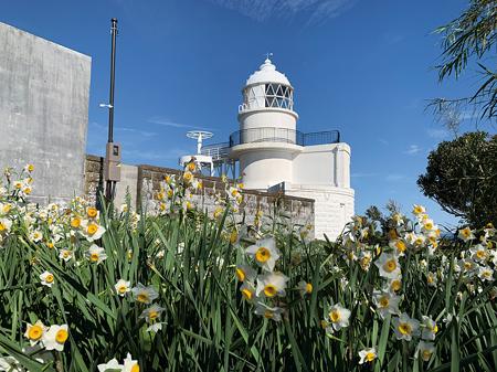 日本最古の石造り灯台でもある樫野埼灯台(南紀串本観光協会提供)