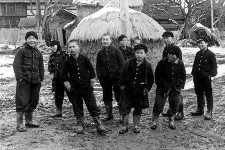 写真・佐藤久太郎(1960年撮影、秋田県横手市)