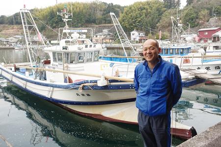 漁船クルーズを始めた中山公夫さん