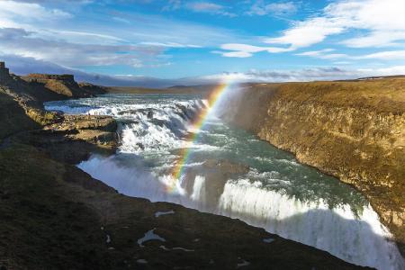 第1回と第2回の船旅で寄港するレイキャビク(アイスランド)