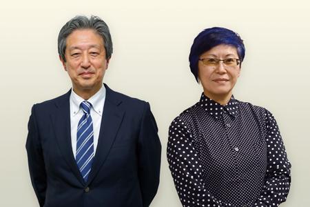 増田 剛さん(全日本民医連会長) 岡野八代さん(同志社大学教授)